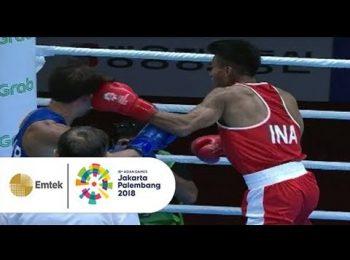 Cuplikan Pertandingan Sengit Tinju Putra Indonesia vs Korea Selatan