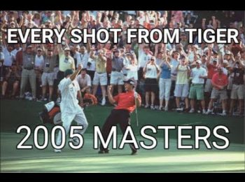 Every Shot From Tiger Woods 2005 Masters Win Final Round