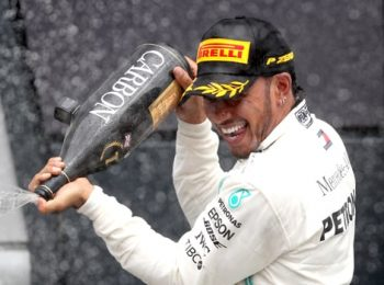 Hamilton memuji kemenangan ke-enam Inggris