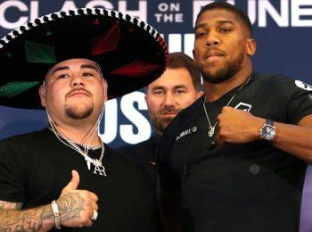 Joshua Berencana untuk Memperbaiki Ring Walk-Boxing-nya