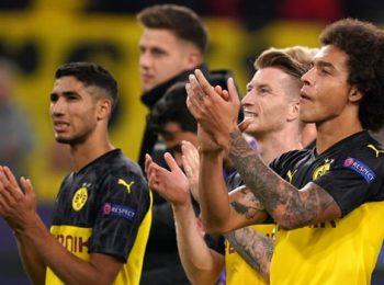 Dortmund kehilangan poin setelah bermain imbang 2-2 di Frankfurt