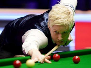 Robertson Menangkan Masters Eropa