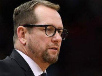 Nick Nurse dari Toronto memenangkan penghargaan NBA Coach of the Year 2019-20