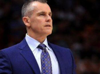 Billy Donovan Disebut sebagai pelatih Chicago Bulls