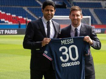 Messi mengungkapkan alasan mengapa dia memilih nomor punggung 30
