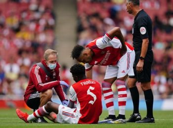 Thomas Partey cedera dalam kekalahan Pramusim Arsenal dari Chelsea