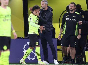 UCL: Donyell Malen mencetak gol dalam kemenangan 1-0 Dortmund atas Sporting CP