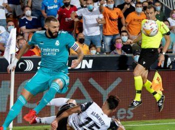 Benzema dan Vinicius memimpin comeback Real Madrid di Valencia