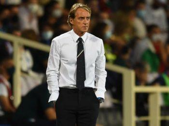 Mancini menyesalkan menyia-nyiakan peluang saat Italia mencatatkan hasil imbang lagi