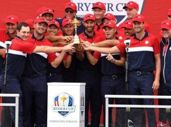 Tim USA Memenangkan Piala Ryder